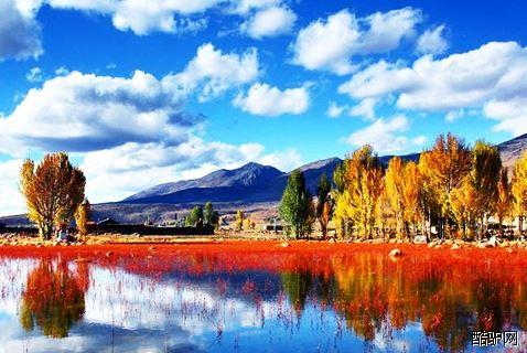 稻城亚丁风景区图片